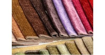 Як вибрати тканину для оббивки меблів